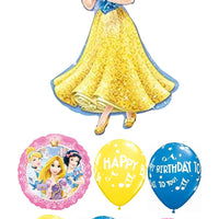 Snow White Birthday Balloon Bouquet 3