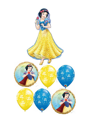 Snow White Once Upon A Time Birthday Balloon Bouquet