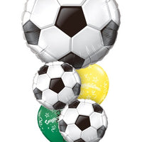 Soccer Balls Congratulations Balloon Bouquet