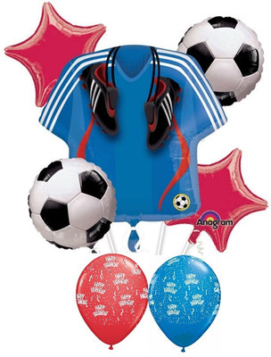 Soccer Jersey Birthday Balloon Bouquet 1