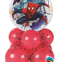 Spider-Man Bubbles Balloon Centerpiece 2