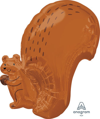 Woodland Critters Squirrel Animals 18 inch Foil Balloons