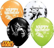 Star Wars 11 inch Happy Birthday Helium Balloons