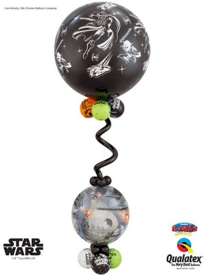 Star Wars 36 inch Jumbo Double Bubbles Balloon Stand Up