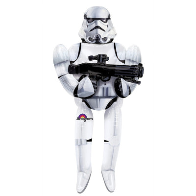 Star Wars 70 inch Storm Trooper Foil Balloon Airwalker with Helium