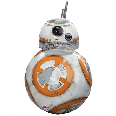 Star Wars BB8 Shape 33 inch Foil Balloon With Helium