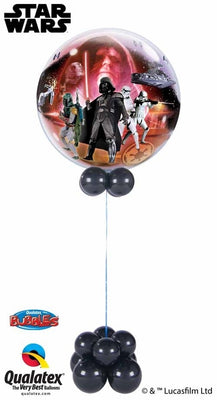 Star Wars Bubbles Balloon Centerpiece