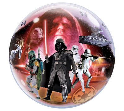 Star Wars Classic 22 inch Bubbles Balloon with Helium