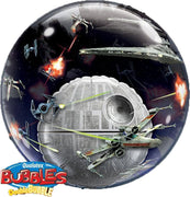 Star Wars Death Star 24 inch Double Bubbles Balloon with Helium