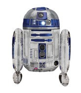 Star Wars Multi R2D2 24 inch Foil Balloon with Helium