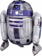 Star Wars R2D2 15 inch Foil Balloon Decor Air Filled Only