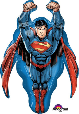 Superman 34 inch Supershape Foil Balloon