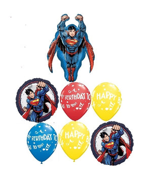 Superman Birthday Bouquet Balloon