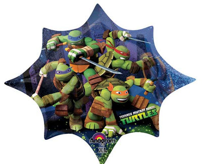 Teenage Mutant Ninja Turtles 35 inch Foil Balloon