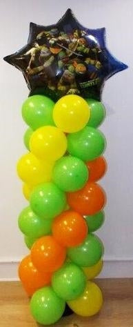 Teenage Mutant Ninja Turtles Balloon Column
