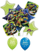 Teenage Mutant Ninja Turtles Happy Birthday Balloon Bouquet