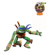 Teenage Mutant Ninja Turtles Leonardo Balloon Airwalker Bubbles