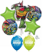 Teenage Mutant Ninja Turtles Rise Balloon Bouquet