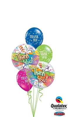 Thank You Bubbles Balloon Bouquet 5