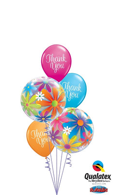Thank You Bubbles Balloon Bouquet 4