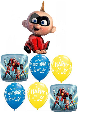 The Incredibles 2 Happy Birthday Balloon Bouquet