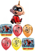 The Incredibles 2 Jack Happy Birthday Balloon Bouquet