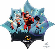 The Incredibles 2 Supershape 35 inch Foil Balloons