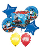 Thomas the Tank Engine Train Cubez Birthday Balloon Bouquet