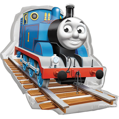 Thomas the Tank Engine Train Track 30 inch Foil Shape Balloon