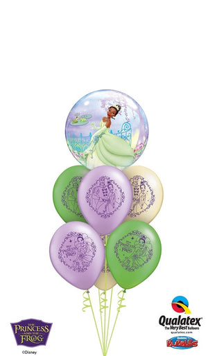 Tiana Bubbles Balloon Bouquet 1