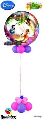 Tinker Bell Bubble Balloon Centerpiece 1
