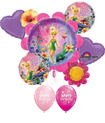 Tinker Bell Birthday Balloon Bouquet 2