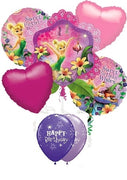 Tinker Bell Birthday Balloon Bouquet 3