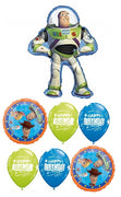 Toy Story 4 Buzz LIghtyear Birthday Balloon Bouquet