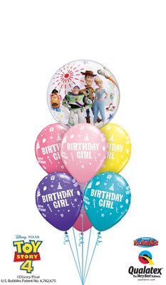 Toy Story Birthday Girl Balloon Bouquet