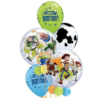 Toy Story Bubbles Birthday Balloon Bouquet