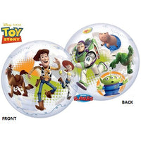 Toy Story Bubble Cowhide Balloon Centerpiece