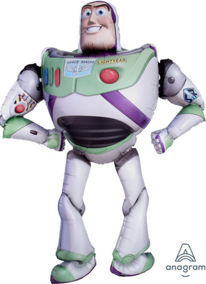 Toy Story Buzz Lightyear 62 Inch Airwalker Foil Balloon with Helium