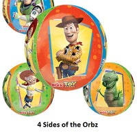Toy Story Orbz Birthday Balloon Bouquet