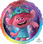Trolls 2 World Tour Poppy 18 inch Foil Balloon with Helium