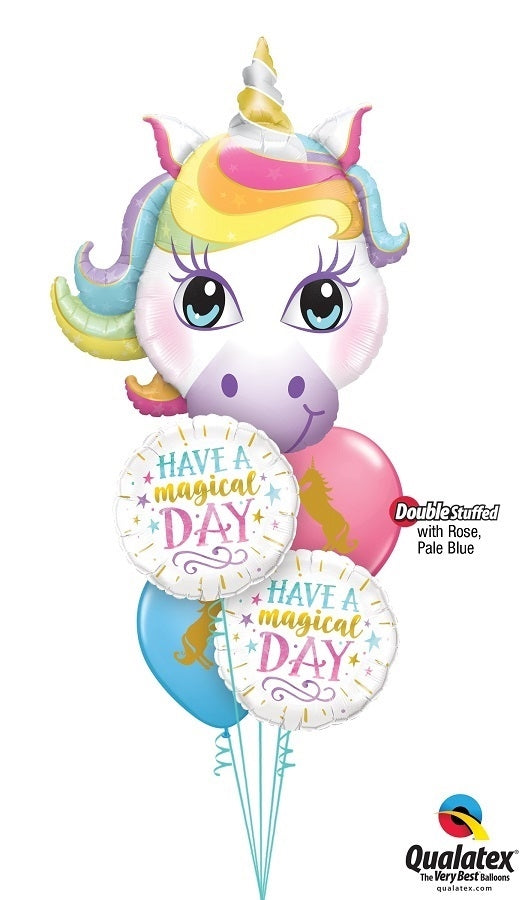 Unicorn Magical Birthday Balloon Bouquet 11