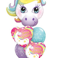 Unicorn Magical Birthday Balloon Bouquet 10