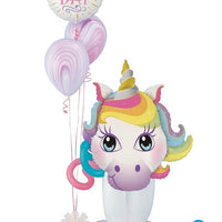 Unicorn Magical Birthday Stand Up Bouquet 12