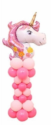 Unicorn Pink Balloon Column