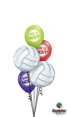 Volleyball Balloon Bouquet 1