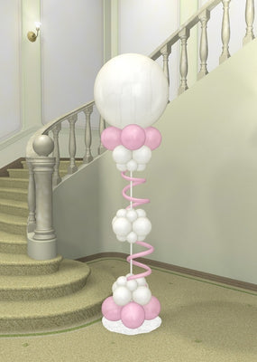 Wedding 36 inch Round Balloon Column