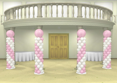 Wedding Spiral Balloon Column