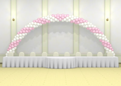 Wedding 35 ft Spiral Balloon Arch
