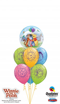 Winnie the Pooh Bubbles Balloon Bouquet