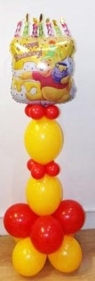 Winnie the Pooh Cake Balloon Stand Up